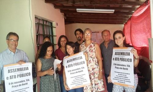 REUNIÃO NO CRAS SAMAMBAIA-EXPANSÃO