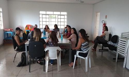 REUNIÃO DA GREVE COM COLEGAS DE SAMAMBAIA E RECANTO DAS EMAS