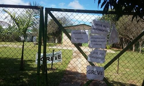 GREVE FORTÍSSIMA NO CRAS RIACHO FUNDO II