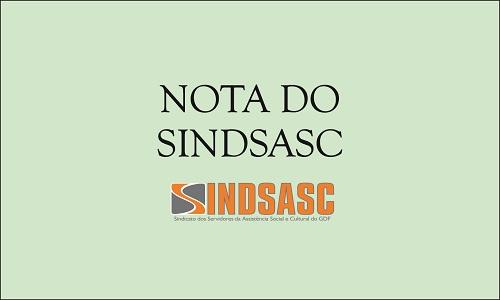 NOTA DO SINDSASC - A SEDESTMIDH E OS AAS, MAIS QUE UM DESRESPEITO, UM DESCASO COM A ASSISTÊNCIA SOCIAL