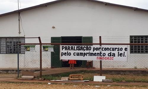 CRAS RECANTO NA PARALISAÇÃO DE 24h