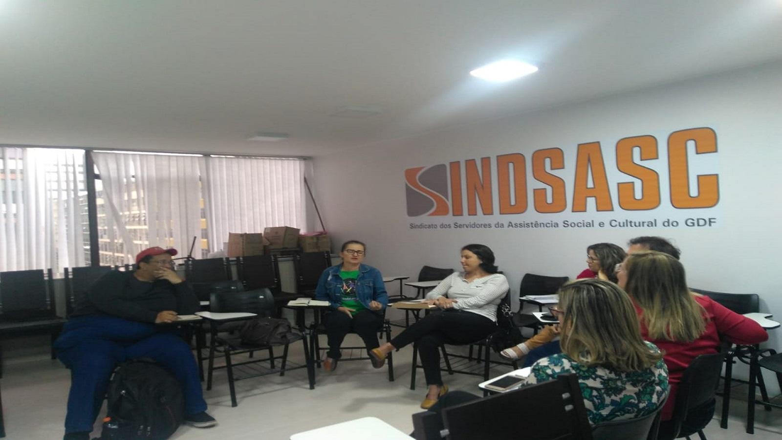Reunião da executiva do Movimento em Defesa da Casa da Mulher Brasileira
