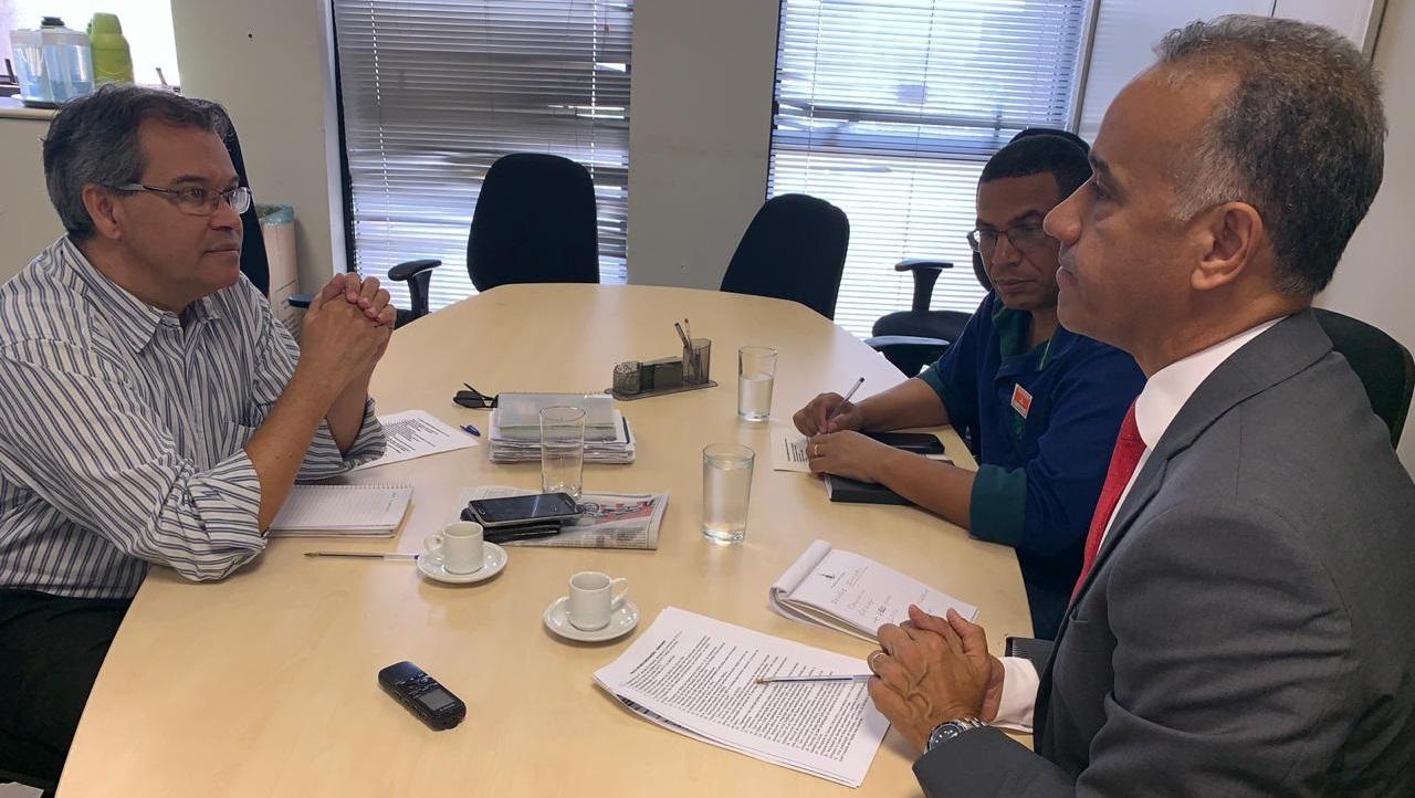 Sindicato participa de nova reunião com o GDF