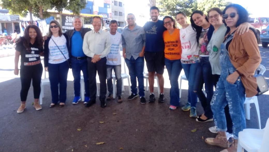 Servidores de Sobradinho e Fercal participam de reunião aberta da Semana de Lutas