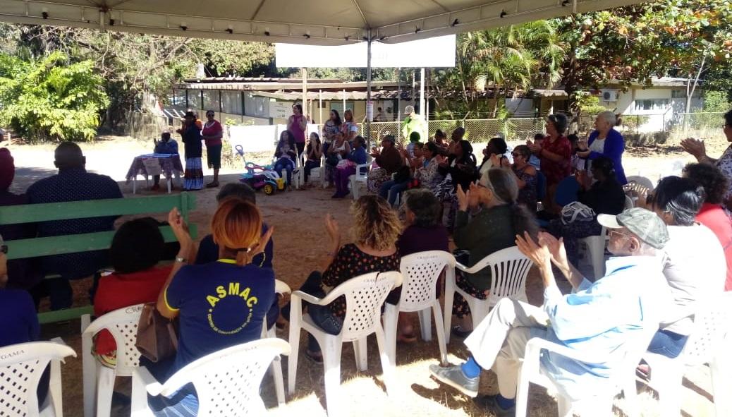 Reunião no Gama fecha a Semana de Lutas do Sindsasc