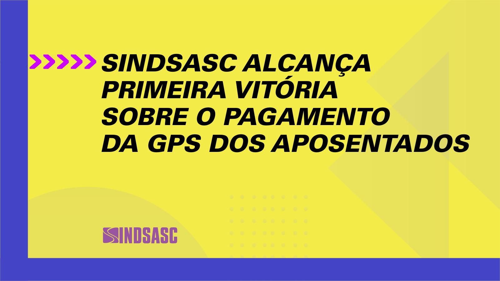 Sindicato alcança primeira vitória sobre a GPS
