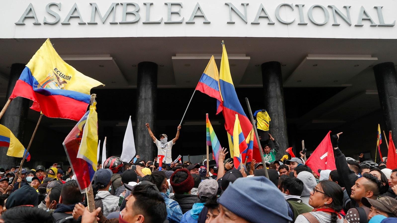 Todo o apoio ao povo do Equador