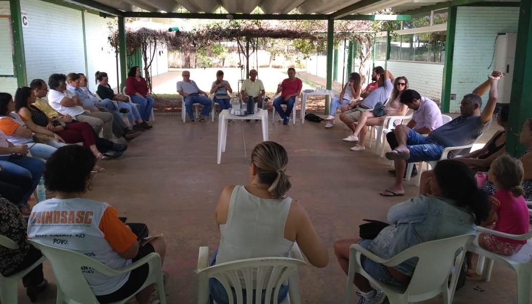 Reunião aberta em Planaltina destaca a importância da mobilização da categoria