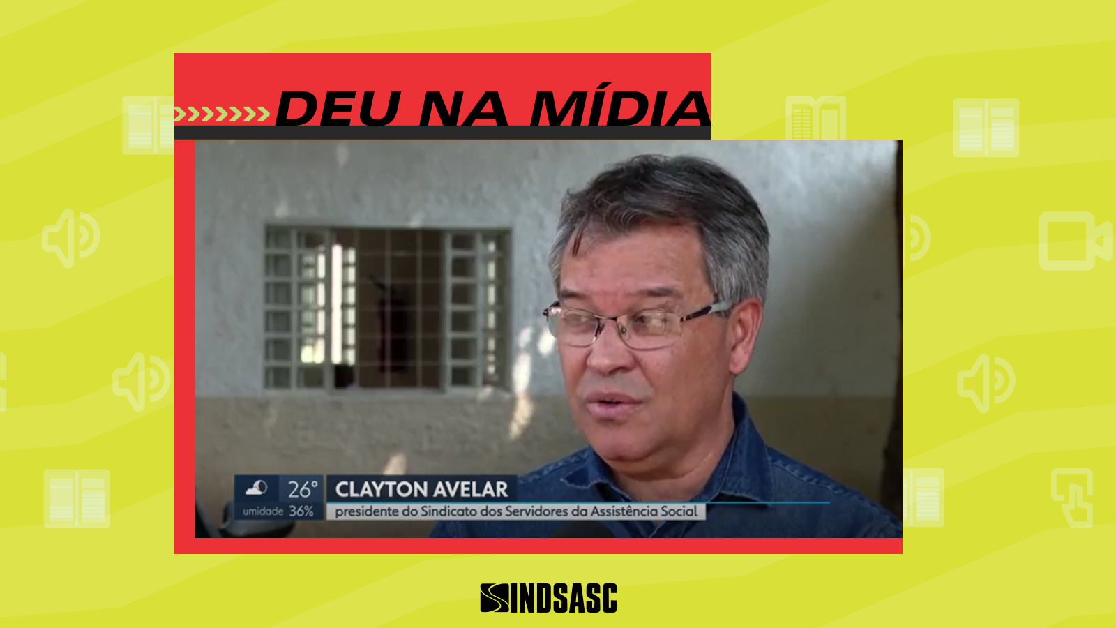 [DEU NA MÍDIA] Matéria da Globo expõe paralisação de 48 horas da assistência social