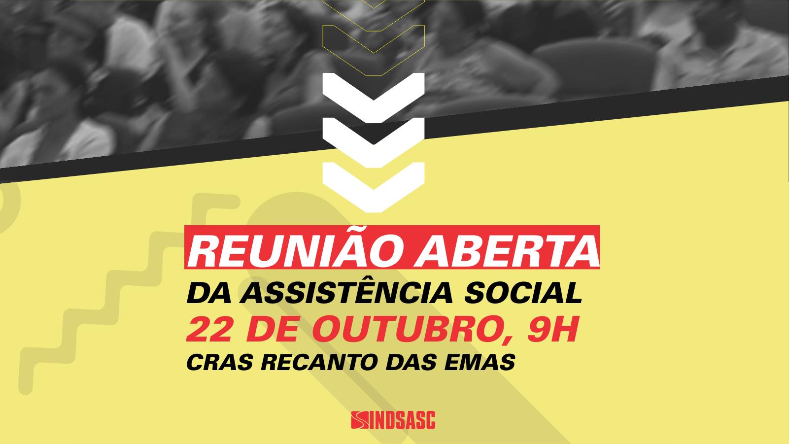 Recanto das Emas recebe próxima reunião aberta da assistência social