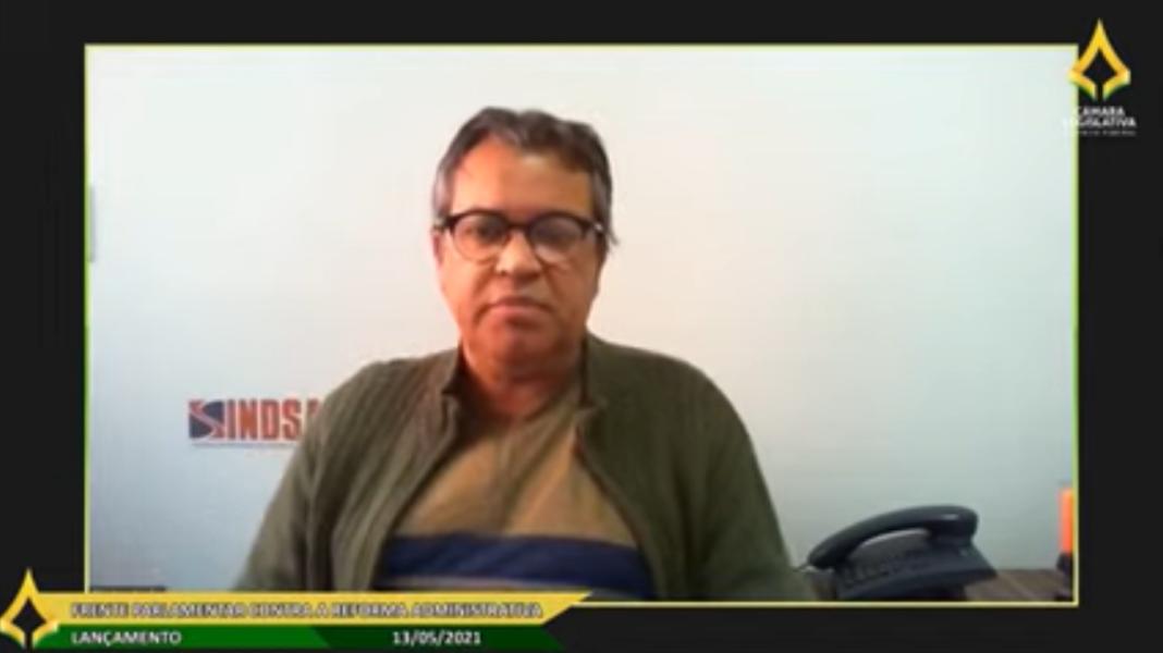 Sindsasc participa do lançamento da Frente Parlamentar Contra a Reforma Administrativa