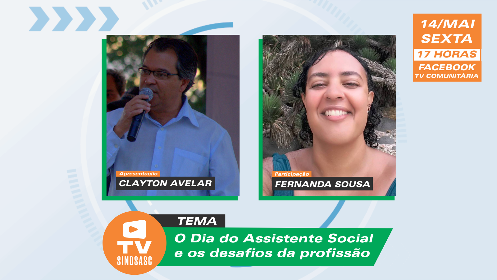Dia do Assistente Social é tema do TV Sindsasc
