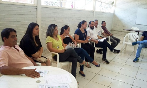 REUNIÃO NO GUARÁ MOBILIZA PARA O ATO DO DIA 15