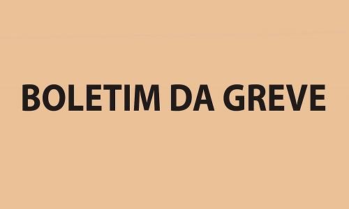 BOLETIM DA GREVE - Nº 1, 27 DE OUTUBRO DE 2016