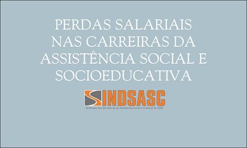 PERDAS SALARIAIS NAS CARREIRAS DA ASSISTÊNCIA SOCIAL E SOCIOEDUCATIVA