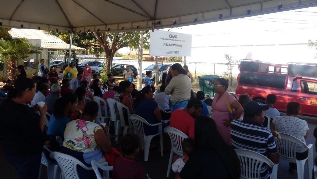 Paranoá recebe reunião aberta do Sindsasc