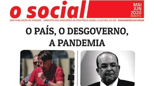 INFORMATIVO BIMESTRAL - O SOCIAL - MAIO / JUNHO 2020