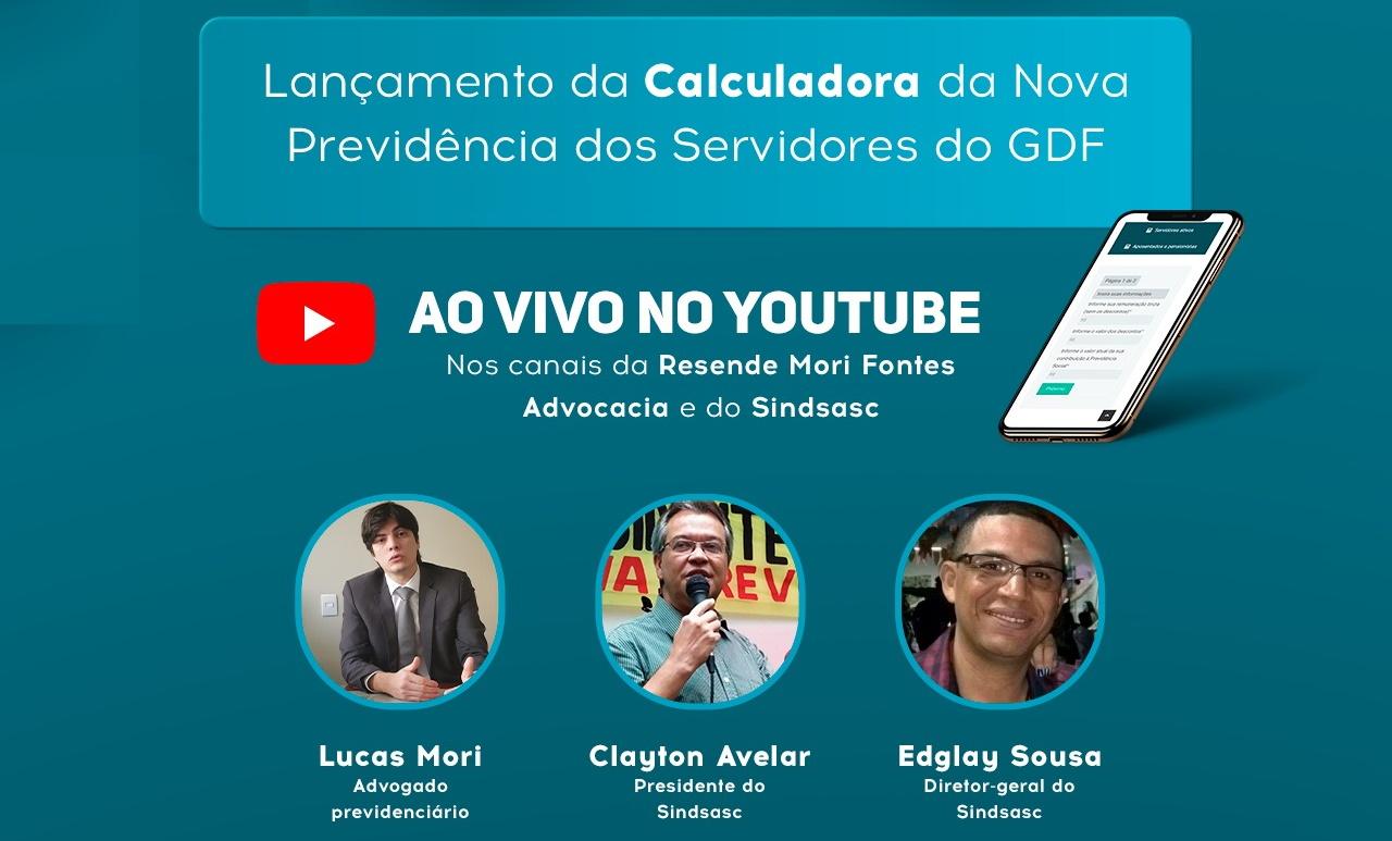 Sindsasc e escritório Resende, Mori & Fontes lançam calculadora da reforma da previdência